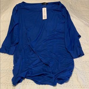 Made by johnny new blue top size 4X